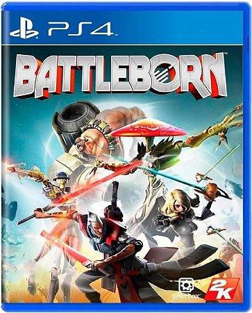 Jogo Battleborn - PS4 Mídia Física Usado