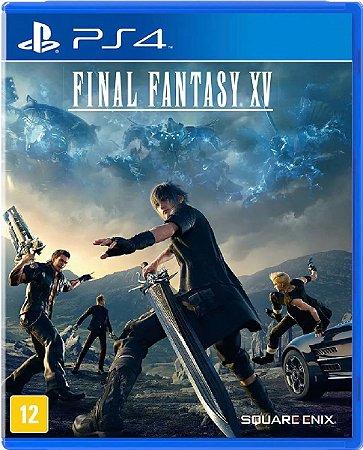 Jogo Final Fantasy XV Edição Day One - PS4 Mídia Física Usado