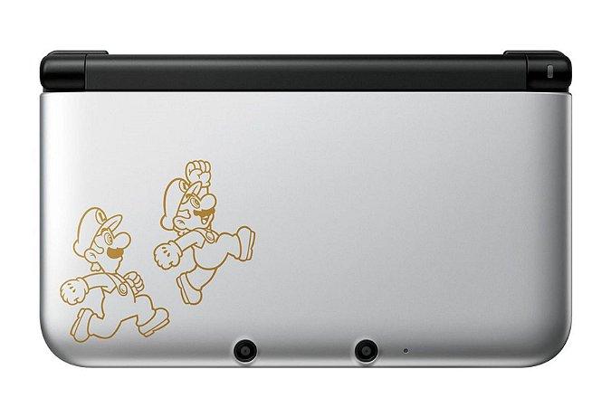 Nintendo 3DS XL Mario & Luigi: Dream Team Usado + 26 Jogos Edição Especial