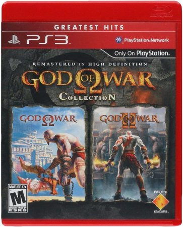 Jogo God of War Collection Greatest Ps3 Mídia Física Usado