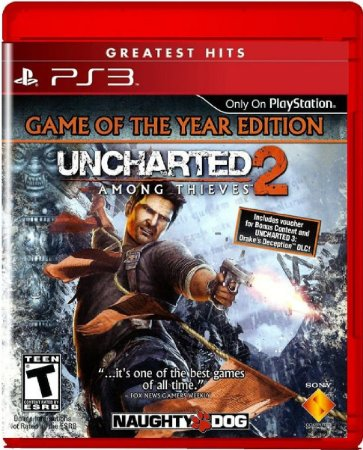 Jogo Uncharted 2 Among Thieves Greatest Hits - Ps3 Usado