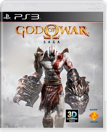 Jogo God of War Saga - Ps3 Mídia Física Usado
