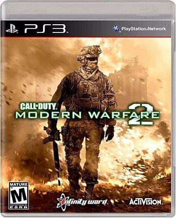 Jogo Call of Duty Modern Warfare 2 - Ps3 Mídia Física Usado