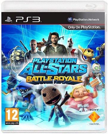 Jogo Playstation All Stars Battle Royale - Ps3 Usado