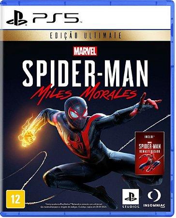 Jogo Spider Man: Miles Morales Ediçao Ultimate - Ps5 Física