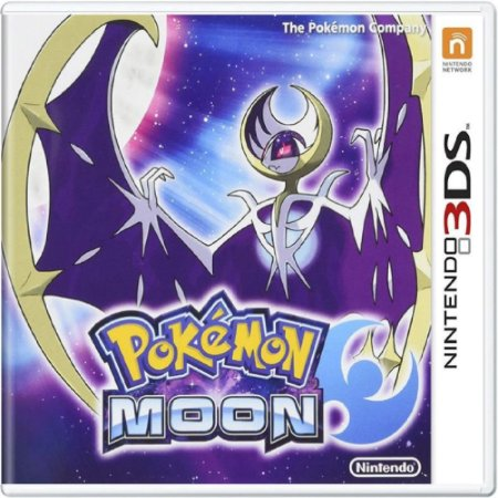 Jogo Pokémon Moon - Nintendo 3DS Usado