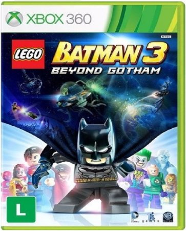 Jogo Lego Batman 3 Beyond Gotham - Xbox 360 Mídia Física Usado
