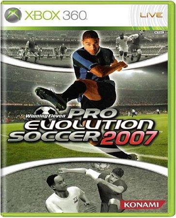 Jogo Pro Evolution Soccer 2007 - Xbox 360 Mídia Física Usado