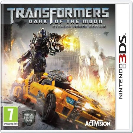 Jogo Transformers Dark Of The Moon - Nintendo 3DS Usado