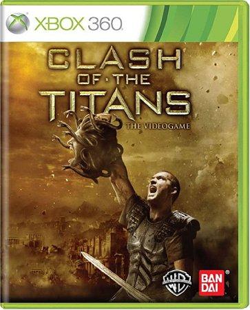 Jogo Clash Of The Titans - Xbox 360 Mídia Física Usado