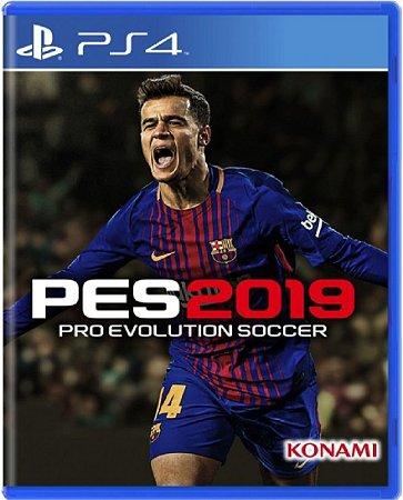 Jogo Pro Evolution Soccer 2019 - Ps4 Mídia Física Usado