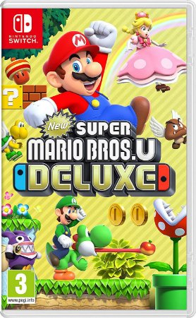Jogo Super Mario Bros.U Deluxe - Nintendo Switch