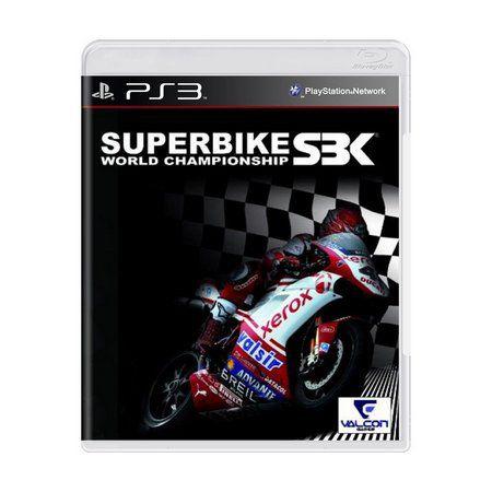 Jogo SBK Superbike World Championship - Ps3 Usado