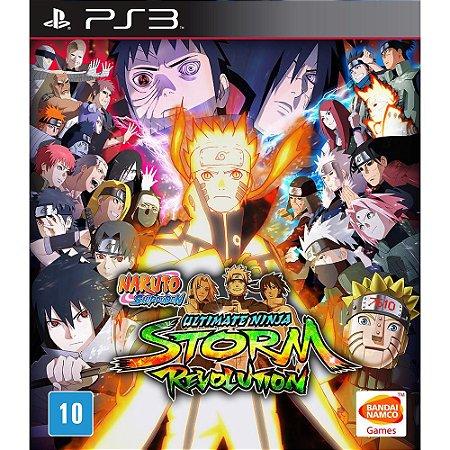 Jogo Naruto Shipudden Ultimate Storm Revolution - PS3 Usado