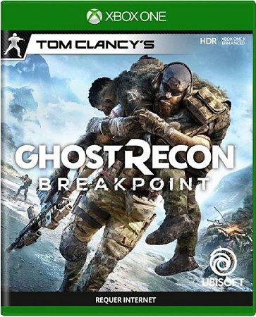 Jogo Ghost Recon Breakpoint - Xbox One Mídia Física Usado