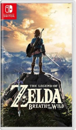 Jogo The Legend Of Zelda Breath Of The Wild Switch Usado