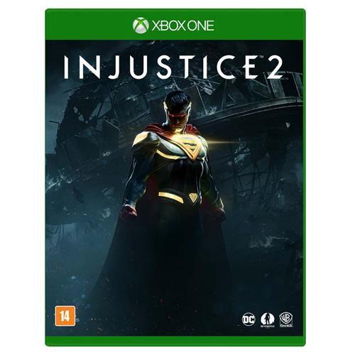 Jogo Injustice 2 - Xbox One Mídia Física Usado