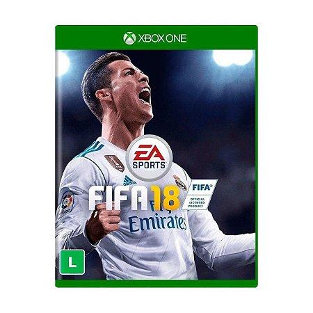 Jogo Fifa 18 - Xbox One Mídia Física Usado