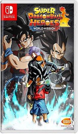 Jogo Super Dragon Ball Heroes - Nintendo Switch Física Usado