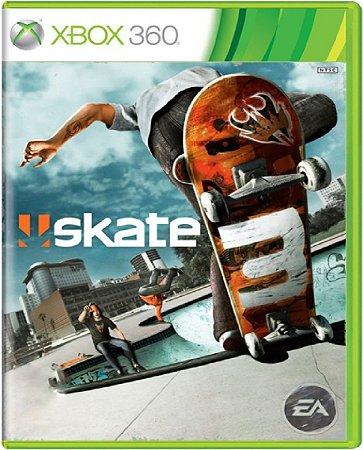 Jogo Skate 3 - Xbox 360 Mídia Física Usado