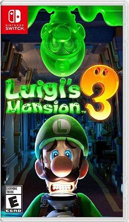 Jogo Luigi's Mansion 3 - Nintendo Switch