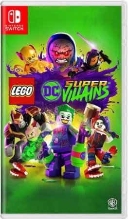 Lego DC Super Villains - Nintendo Switch Mídia Física Usado
