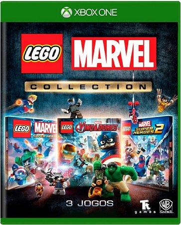 Jogo Lego Marvel Collection - Xbox One Mídia Física
