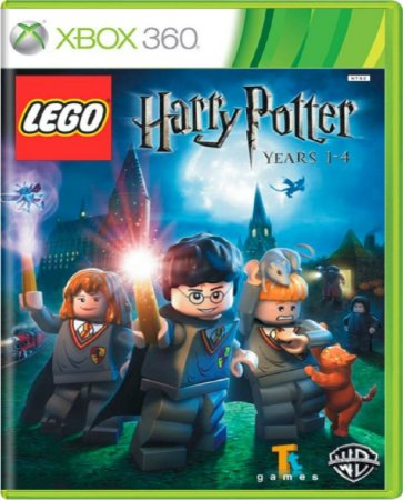 Jogo Lego Harry Potter Anos 1 - 4 - Xbox 360 Mídia Física Usado