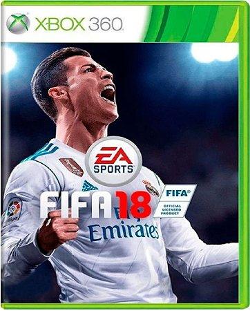 Jogo Fifa 18 - Xbox 360 Mídia Física Usado