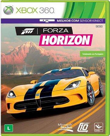 Jogo Forza Horizon - Xbox 360 Mídia Física Usado