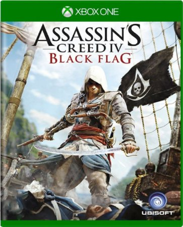 Jogo Assassin's Creed 4 Black Flag - Xbox One Mídia Física Usado
