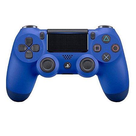 Controle Original Sony Azul - Ps4 Usado