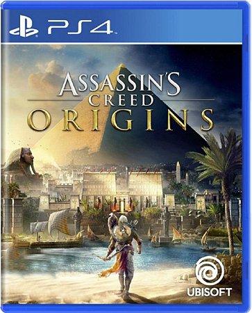 Jogo Assassin's Creed Origins - Ps4 Mídia Física Usado