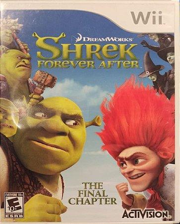 Jogo Sherek Forever After - Nintendo Wii Mídia Física Usado