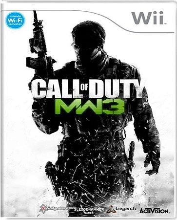 Jogo Call of Duty Modern Warfare 3 - Nintendo Wii Mídia Física Usado