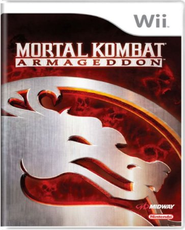 Jogo Mortal Kombat Armagedon - Nintendo Wii Mídia Física Usado
