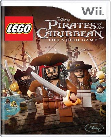 Jogo Lego Pirates Caribbean The Video Game  - Nintendo Wii Mídia Física Usado