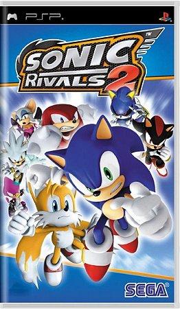 Jogo Sonic Rivals - PSP Usado