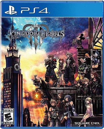 Jogo Kingdom Hearts 3 - Ps4 Mídia Física Usado