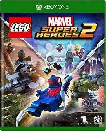 Jogo Lego Marvel Super Heroes 2 - Xbox One Mídia Física Usado