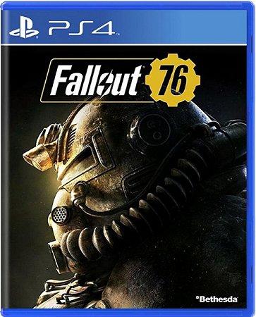 Jogo Fallout 76 - Ps4 Mídia Física Usado