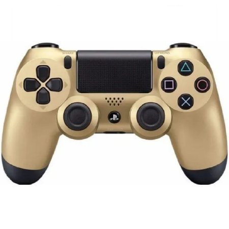 Controle Original Sony Gold - Ps4 Usado