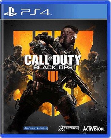Jogo Call of Duty Black Ops 4 - Ps4 Mídia Física Usado