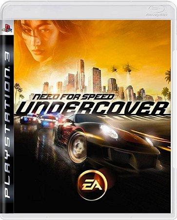 Jogo Need for Speed Undercover - Ps3 Mídia Física Usado