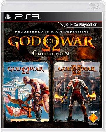 Jogo God of War Collection - Ps3 Mídia Física Usado
