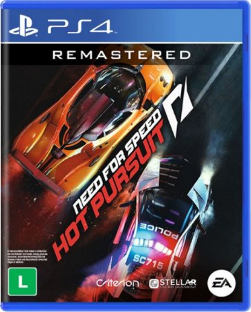 Jogo Need For Speed Hot Pursuit Remastered - PS4 Mídia Física