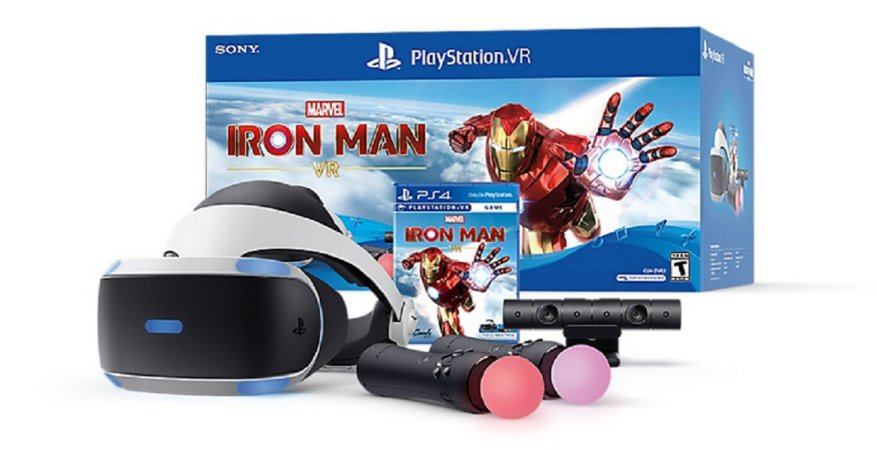Playstation  VR Bundle Edition Iron Man