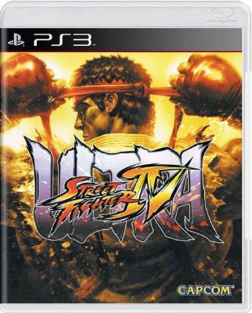 Jogo Ultra Street Fighter IV - Ps3 Mídia Física Usado