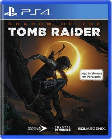 Jogo Shadow of The Tomb Raider - Ps4 Mídia Física Usado