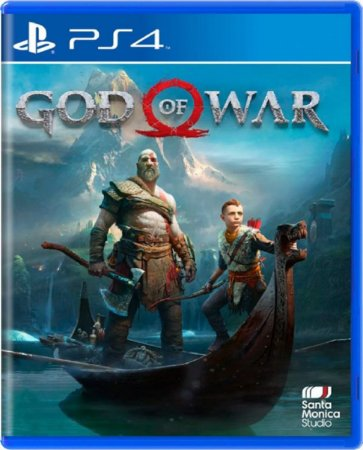 Jogo God of War - Ps4 Mídia Física Usado